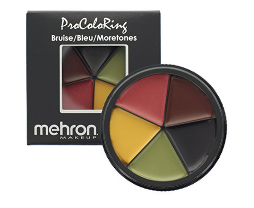 SFX Makeup for Bruises by Mehron - 5 Color Palette