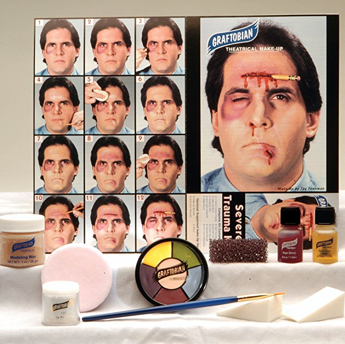 SFX Makeup Starter Kit by Graftobian - Severe Trauma