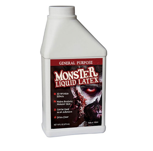 SFX Makeup Liquid Latex for Zombies by Monster Liquid Latex - 1 Pint