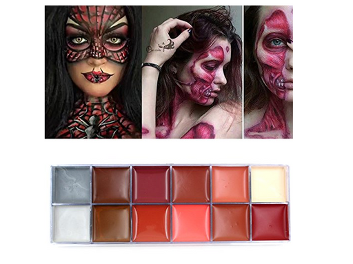 SFX Makeup Palette for Body Paint by iMagic - 12 Colors
