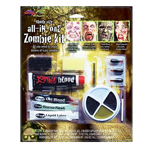 Horror Makeup Kit by Fun World - Zombie Apocalypse