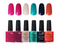 Gel Nail Polish Set by Ukiyo - Island Series - 6 Colors