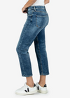 Kut from the Kloth Elizabeth High Rise Crop Straight Jeans
