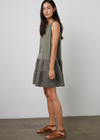 Velvet Sophia Cotton Slub Dress