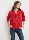 Velvet Laura Cotton Shirt