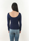 NikiBiki Scoop Neck Long Sleeve