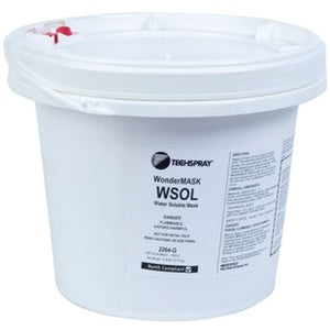 Techspray 2204-G Wondermask WSOL Water-Soluble Solder Mask - 1 gallon