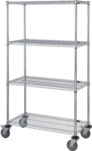 Quantum 4 Wire Shelf Mobile Cart M1848C46 - 18