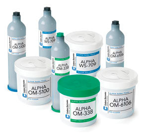 Alpha 152980, WS820 SAC305 Lead-Free Water-Soluble Solder Paste, Type 3, 600 gram Cartridge