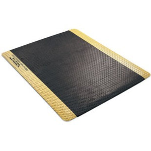 "Desco 40979 24"" x 36"" Diamond Plate Anti-Fatigue Floor Mat Kit"