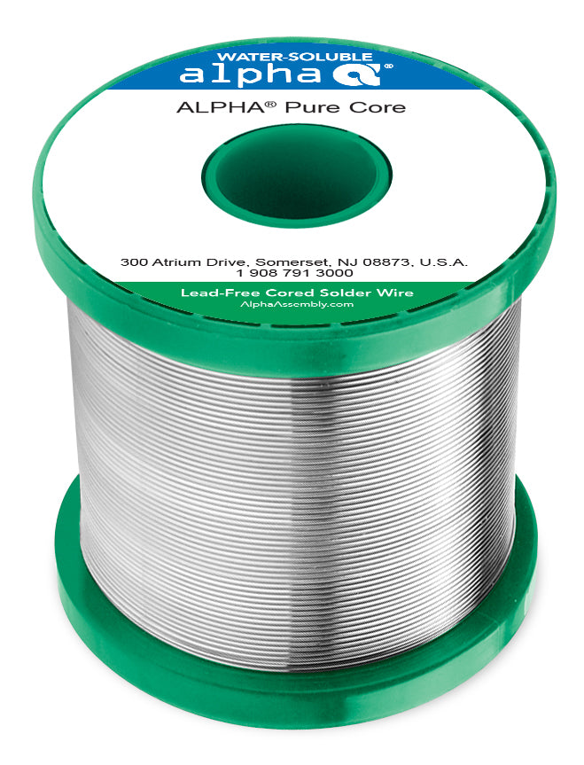Alpha SACX0307 Lead-Free Purecore Water-Soluble .032