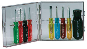 Xcelite PS88N 9-Piece Compact Screwdriver Set