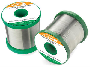 "Alpha 145551, SAC305 Lead-Free Energized+ Rosin .032"" Diameter Solder Wire, 1 LB Spool"