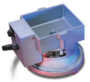 "Esico 75T Solder Pot, P750020, 4-3/4"" x 4-3/4"" with Adjustable Thermostat"