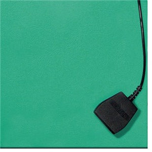 "Botron B6224 Two-Layer Static-Dissipative Rubber Bench Mat, Green, 24"" x 48"""