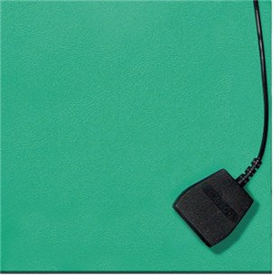 Botron B6224 Two-Layer Static-Dissipative Rubber Bench Mat, Green, 24