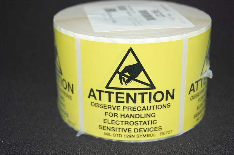 Botron B6727 ESD Awareness Label