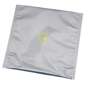 "Desco 13520 18"" x 18"" Static Shield Bag - 100 Pack"
