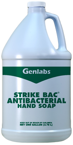 "#8981 ""Strike Bac"" Antibacterial Liquid Hand Soap - 1 Gallon Pail"