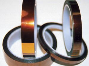 "K321 Polyimide Kapton Film Tape - 3/8"" Wide, 2.6 mil Overall Thickness"