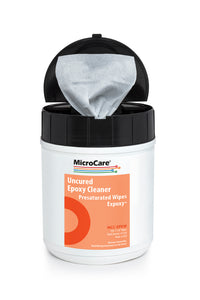 Micro Care MCC-EPXW ExPoxy Wipes, Tub of 100 Wipes