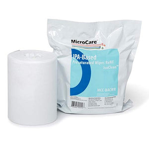 Micro Care MCC-BACWR IsoClean Hi-Purity Isopropyl Alcohol Wipes, Refill Pack of 100