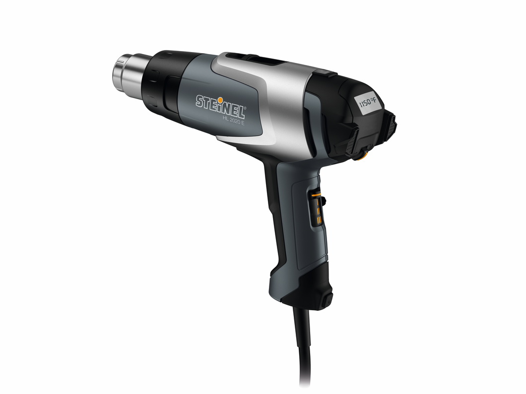 Steinel HL2020 E Professional Heat Gun, Digital LCD Temp Display, 1600W, #110025597