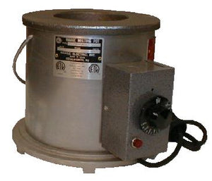 "Waage Electric MP20A-6-1 Solder Pot, 5"" Dia x 4""Deep"