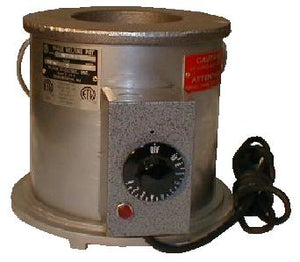 "Waage Electric MP40A-6-1 Solder Pot, 6"" Dia x 6"" Deep"