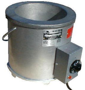"Waage Electric MP80A-6-1 Solder Pot, 8"" Dia x 5.5"" Deep"