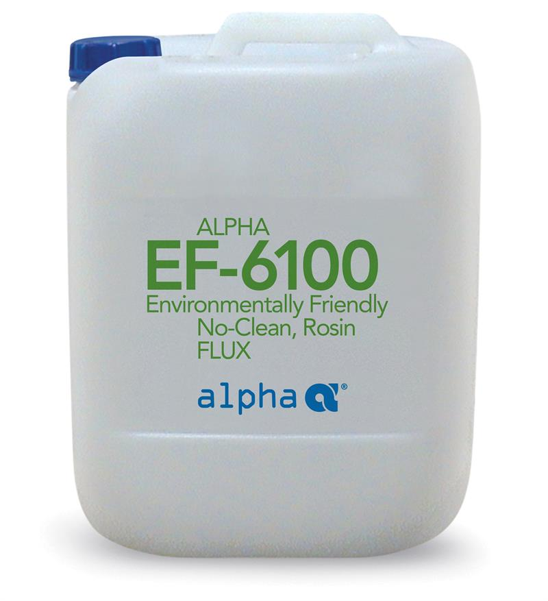 Alpha 148691-0001, EF-6100 No-Clean Soldering Flux - 1 gallon size