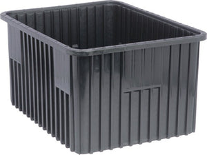 "Quantum DG93120CO Conductive Dividable Grid Container, 22-1/2"" x 17-1/2"" x 12"", Carton of 3"
