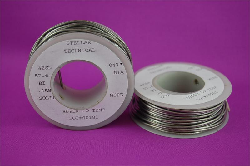 Super-Low Temp Lead-Free Solder Wire .047