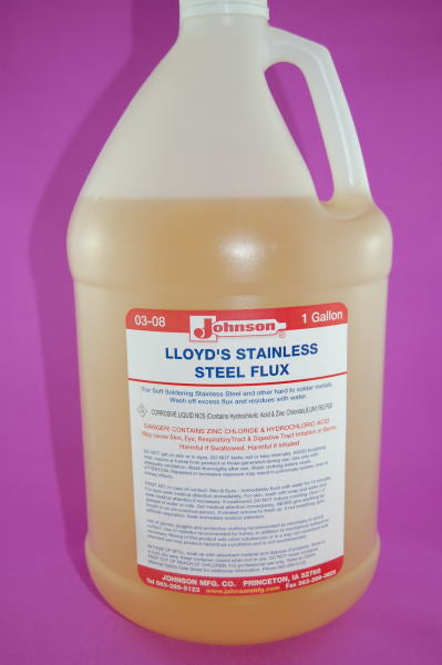 Johnson No.1 Stainless Flux - Gallon