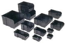 "Quantum QUS210CO Conductive Plastic Bin, 5-3/8"" x 4-1/8"" x 3"" tall, Carton of 24"