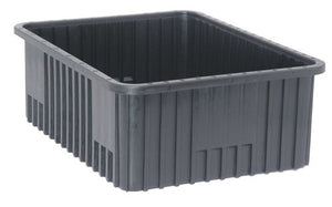 "Quantum DG93080CO Conductive Dividable Grid Container, 22-1/2"" x 17-1/2"" x 8"", Carton of 3"