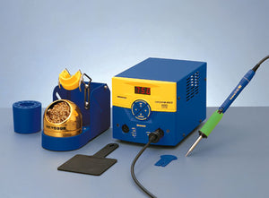 Hakko FM203-01 Dual Port Digital Soldering Station with One FM-2027 Iron