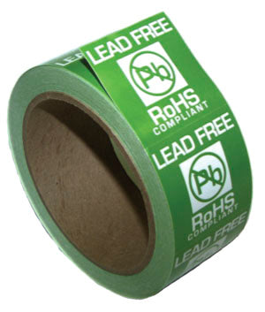 ROHS Lead-Free Label