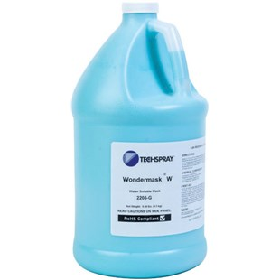 Techspray 2205-G Wondermask W Water-Soluble Solder Mask, 1 gallon