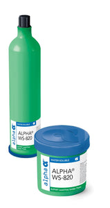 Alpha 153514, WS820 SAC305 Lead-Free Water-Soluble Solder Paste, Type 4 Powder, 600 Gram Cartridge