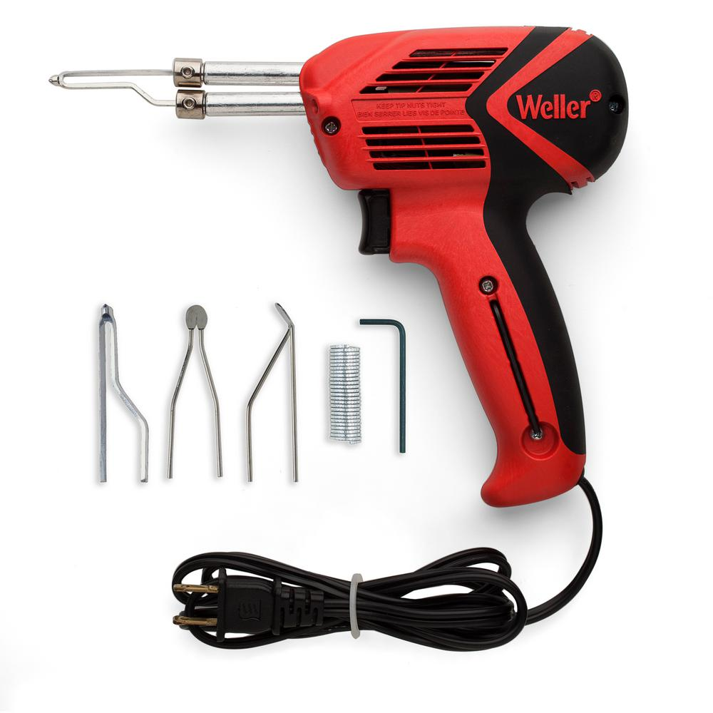 Weller 9400PKS Universal Soldering Gun Kit with LED Lighting, Dual Heat 140/100W