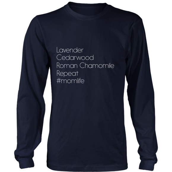 Essential Oils Momlife Long Sleeve Shirt