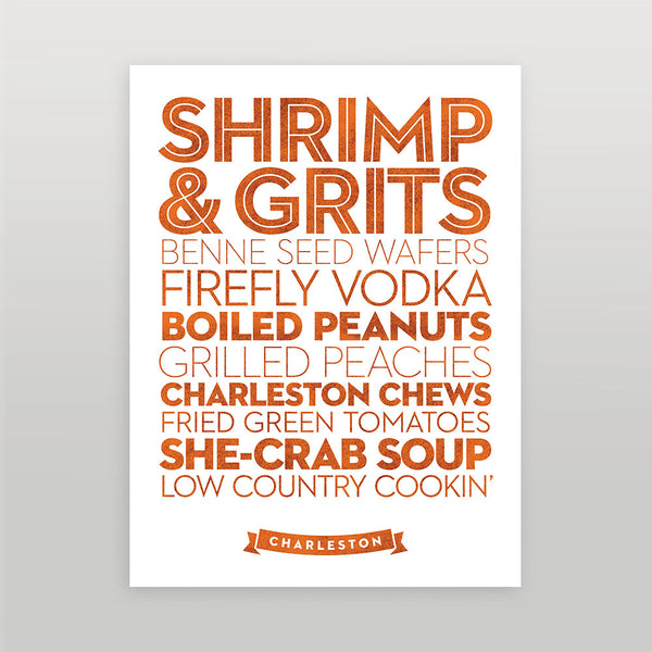 Charleston — Delicious City Prints