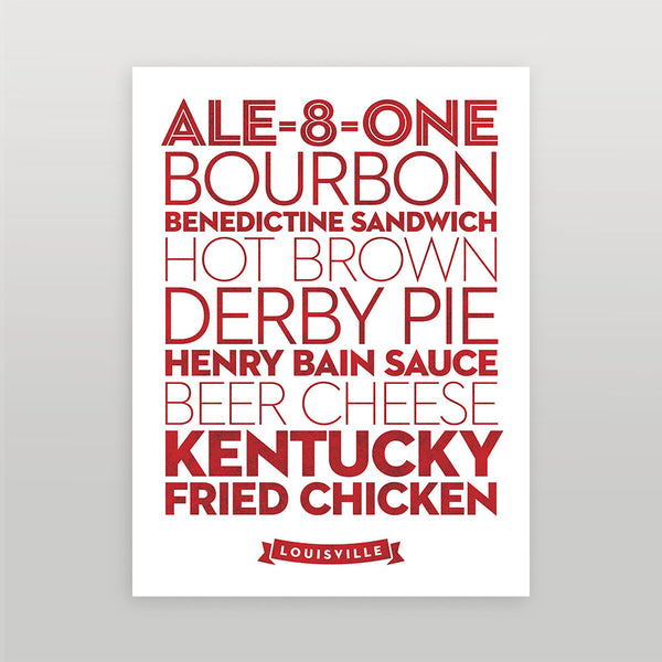 Louisville — Delicious City Prints