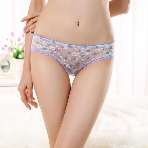 Women's Sexy Fashion Panties Briefs Bikini Knickers Lingerie Underwear BU