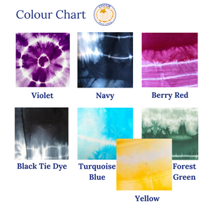 Colour Chart | Cucur Ethical Clothing