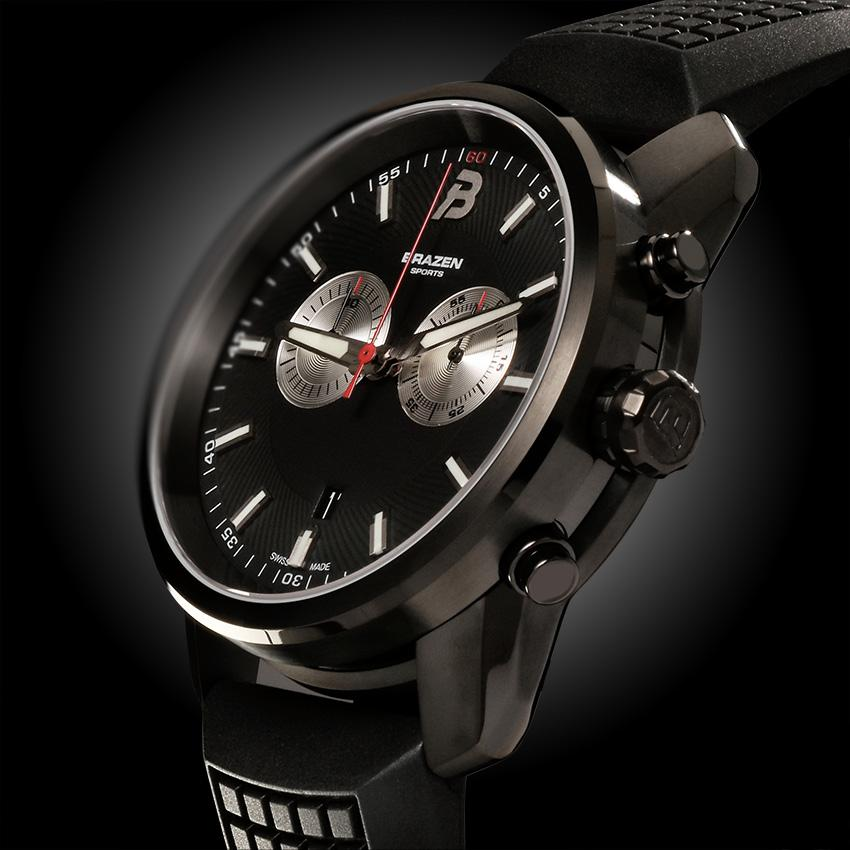 DUEL Chronograph Black Watch