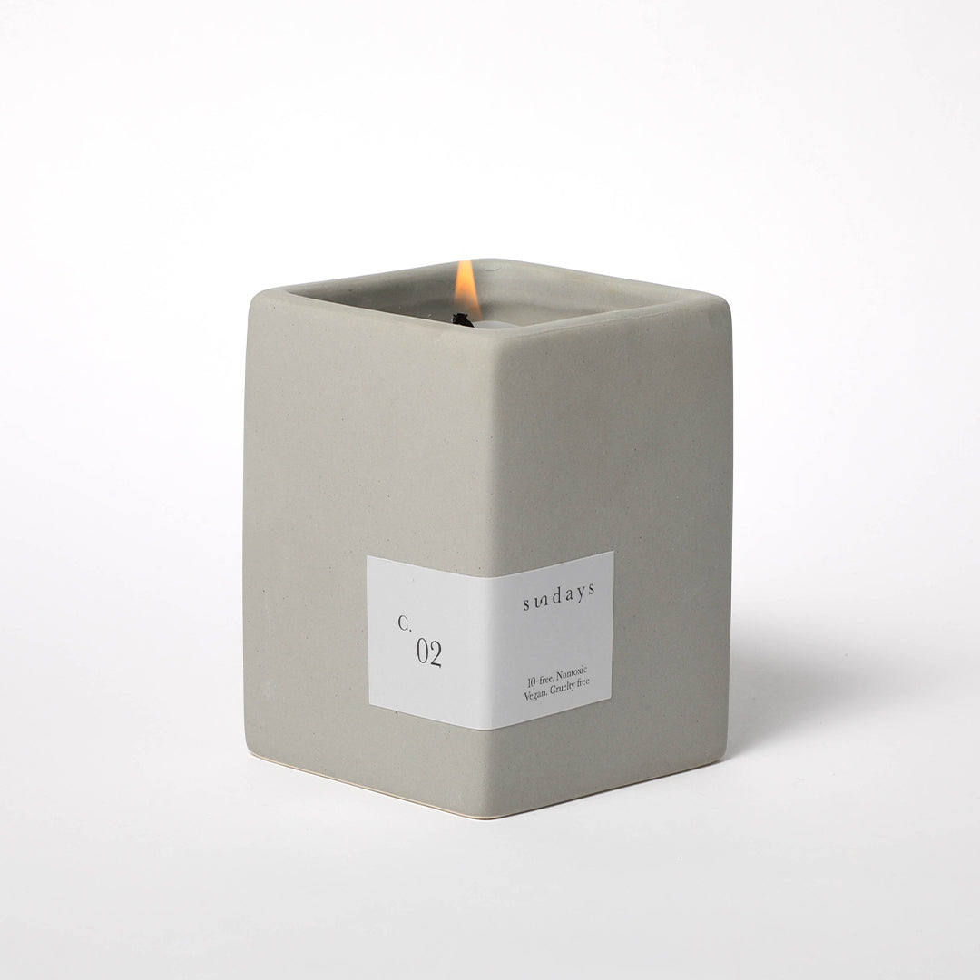 Green Ginger & Fig Candle C.02