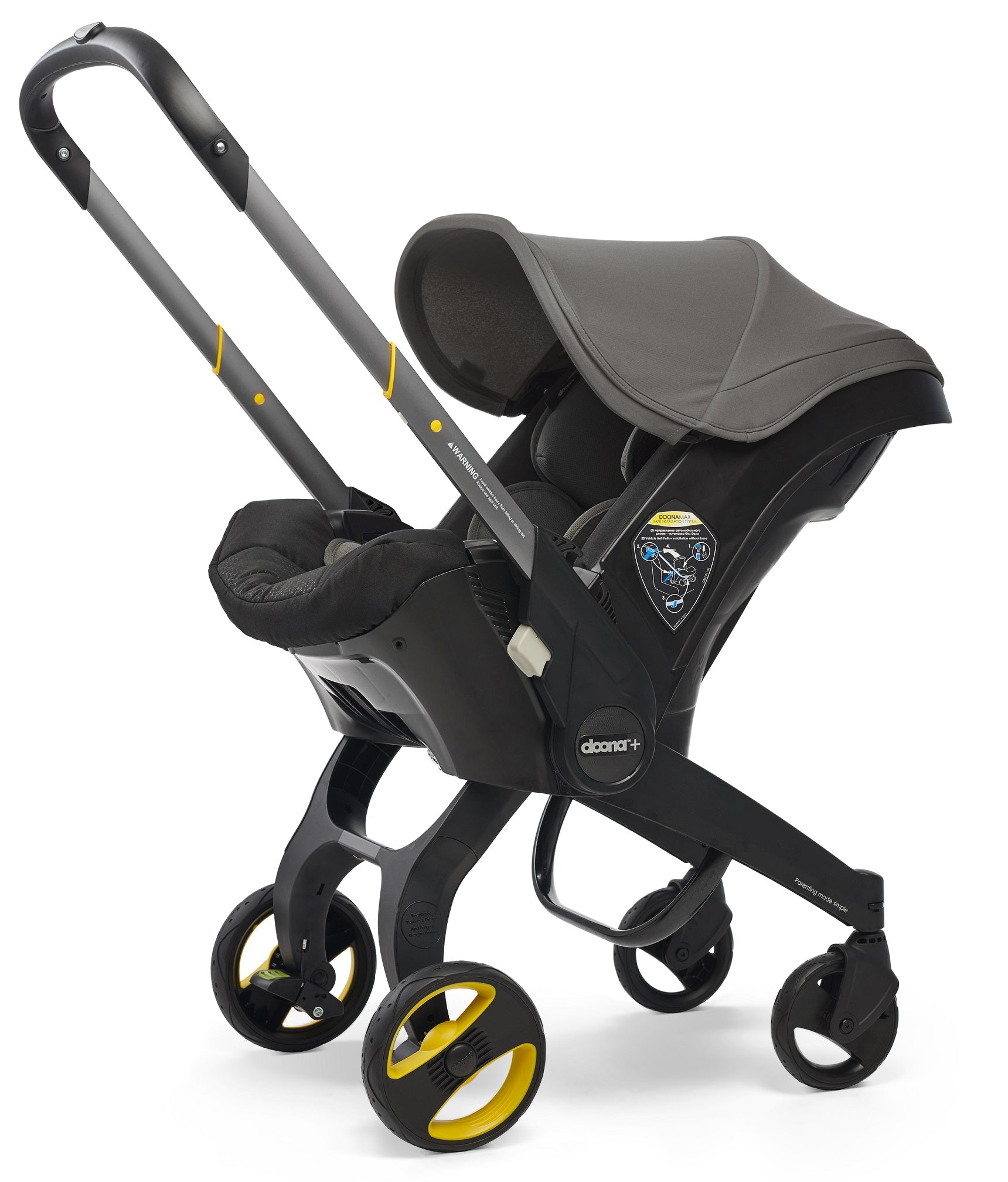 Doona Infant Car Seat - Greyhound