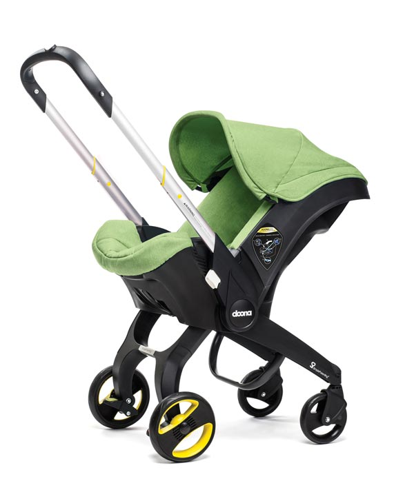 Doona Infant Car Seat with All Day Bag and Insect Net - Fresh